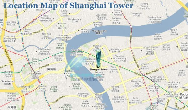 map-of-shanghai-tower